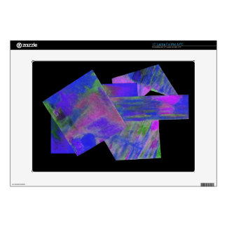 Blue Abstract Laptop Skin