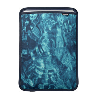 Blue Abstract MacBook Sleeve