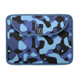 Blue Abstract MacBook Sleeve Case