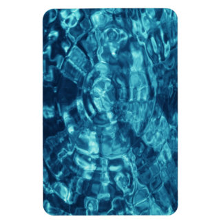 Blue Abstract Magnet