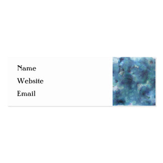 Blue Abstract. Mini Business Card