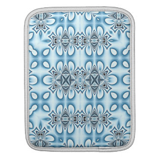 Blue Abstract Mirrors Sleeve For iPads