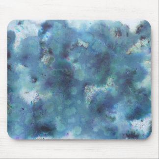 Blue Abstract. Mouse Pad