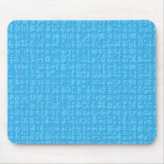 Blue Abstract Mousepad Mouse Pad