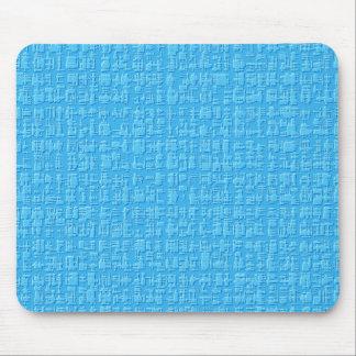 Blue Abstract Mousepad