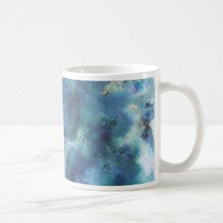 Blue Abstract. Mugs