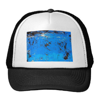 Blue Abstract painting 2 Trucker Hat