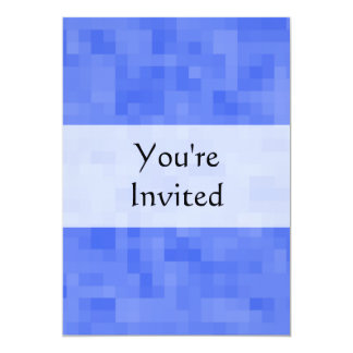 Blue Abstract Pattern. 5x7 Paper Invitation Card