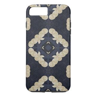blue abstract pattern geometric quatrefoil yoga iPhone 7 plus case