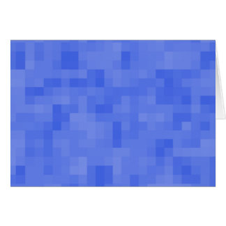 Blue Abstract Pattern. Greeting Card