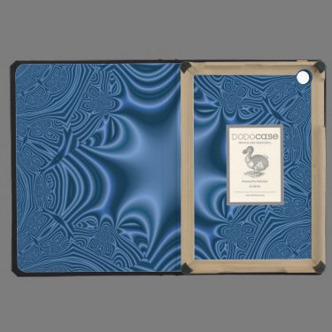 Blue abstract pattern iPad mini covers