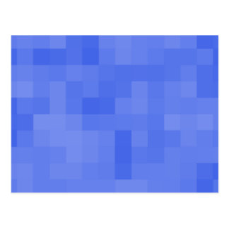 Blue Abstract Pattern. Postcard