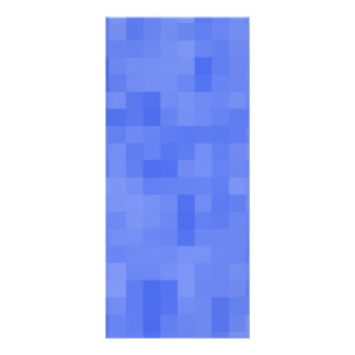 Blue Abstract Pattern. Rack Cards