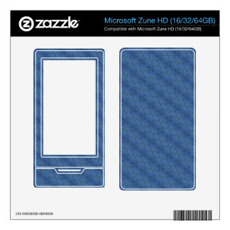 Blue abstract Pattern Zune HD Skins