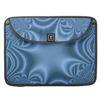 Blue abstract pattern sleeves for MacBooks