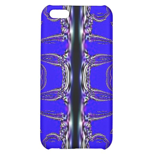 Blue Abstract Pattern Speck Case iPhone 5C Cases
