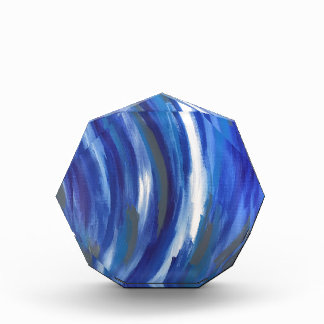 Blue Abstract River Award