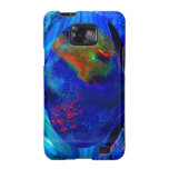 Blue Abstract Samsung Galaxy SII Cases