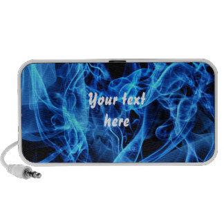 Blue Abstract Travel Speaker