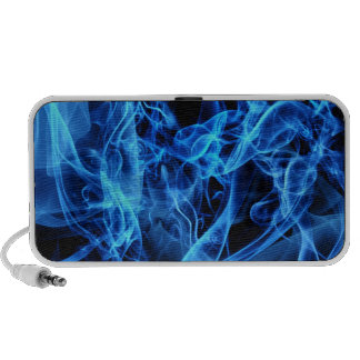 Blue Abstract PC Speakers
