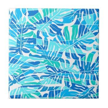 adamfahey Blue abstract surf budget tile