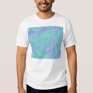 Blue Abstract T-shirt