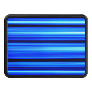 Blue Abstract Trailer Hitch Cover