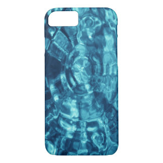 Blue Abstract Water Photo iPhone 7 Case