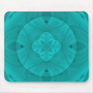 Blue abstract wood pattern mouse pad
