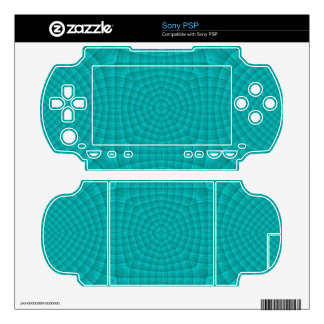 Blue abstract wood pattern skins for the PSP