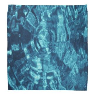 Blue Abstract Bandana