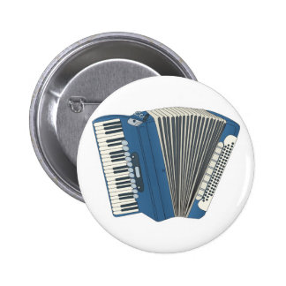 blue accordian pinback buttons