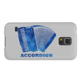 Blue Accordion Galaxy Nexus Cases