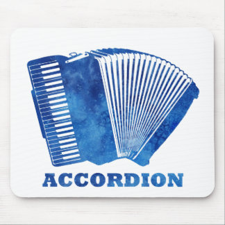 Blue Accordion Mousepad
