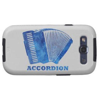 Blue Accordion Samsung Galaxy SIII Covers