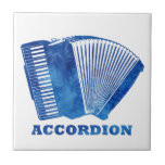 Blue Accordion Tile