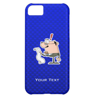 Blue Accountant iPhone 5C Cover