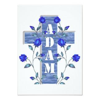 Blue Adam invite