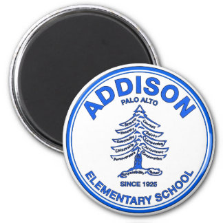 Blue Addison Magnet