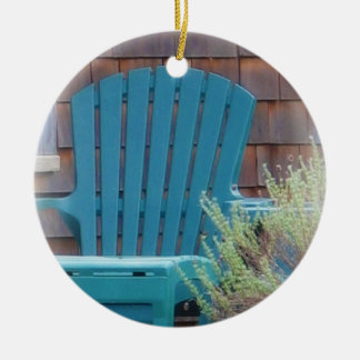 Blue Adirondack Ornaments