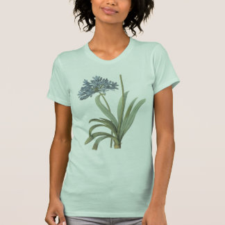 blue African lily(Agapanthus) by Redouté T-shirt