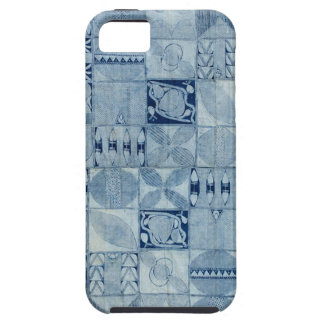 BLUE AFRICAN TEXTILE iPhone SE/5/5s CASE