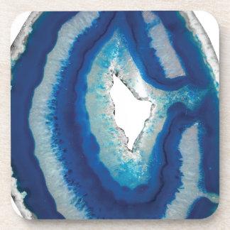 Blue Agate Coaster