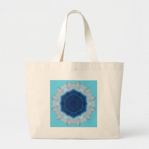 Blue Agate Crystal Design! Bag