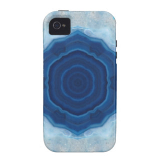 Blue Agate Crystal Design! iPhone 4/4S Cases