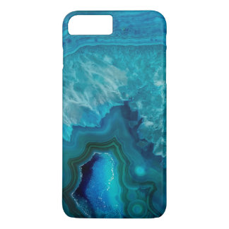 Blue Agate Crystal Geode iPhone 8 Plus/7 Plus Case