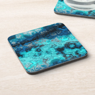 Blue Agate Drink Coaster