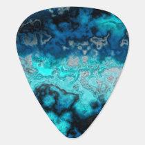 Blue Agate Guitar Pick