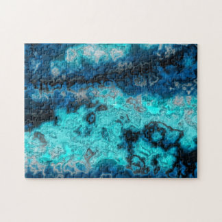 Blue Agate Jigsaw Puzzle