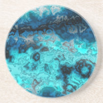 Blue Agate Sandstone Coaster